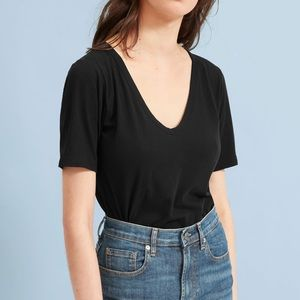 Everlane Air Oversized Neck Tee